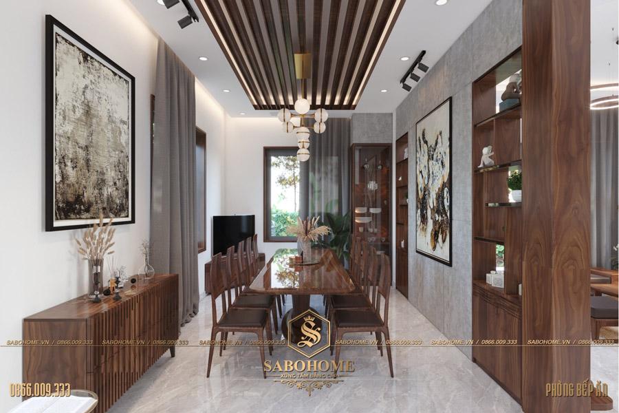 thiết kế phòng bếp ăn hiện đại bt 2063 03