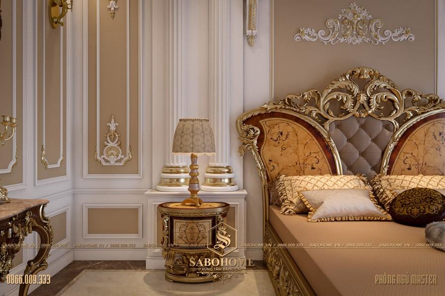 Thiết kế phòng ngủ tân cổ điển master 05