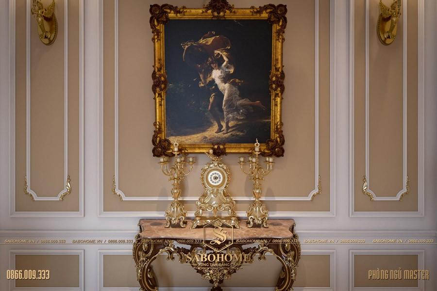 Thiết kế phòng ngủ tân cổ điển master 06