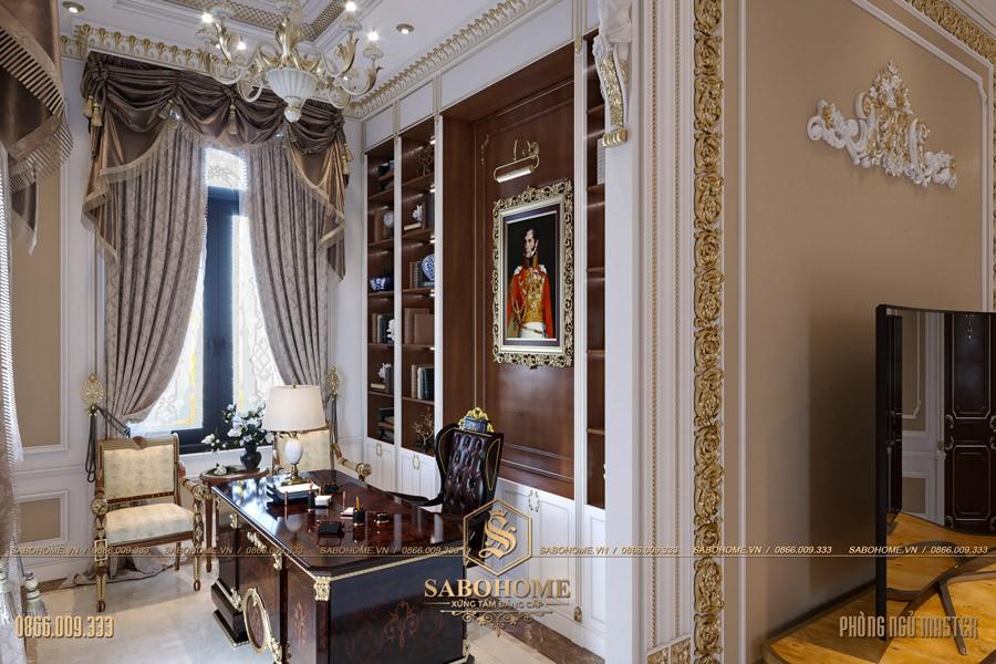 Thiết kế phòng ngủ tân cổ điển master 08