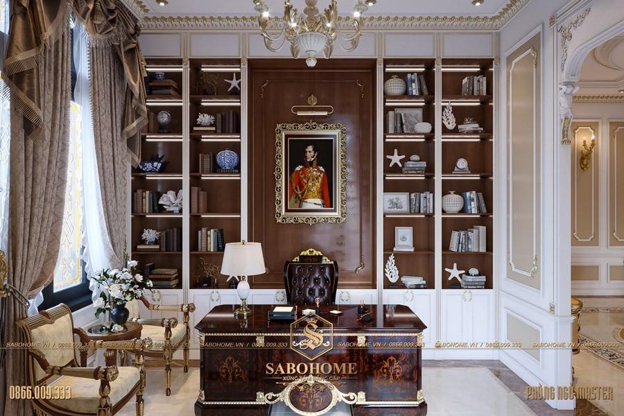 Thiết kế phòng ngủ tân cổ điển master 09