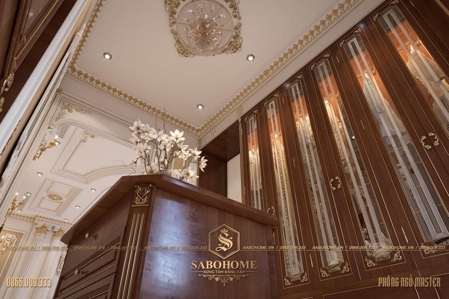 Thiết kế phòng ngủ tân cổ điển master 13
