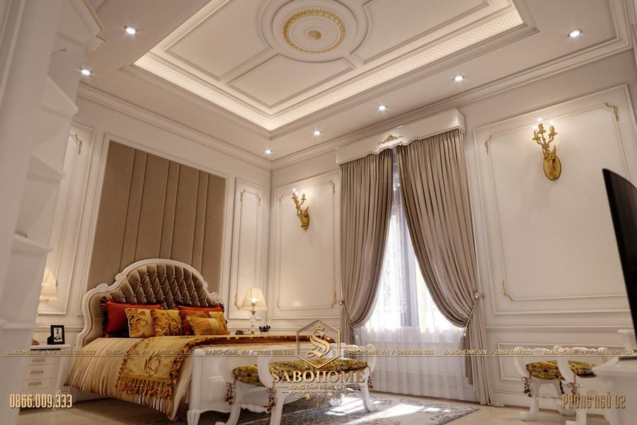 thiết kế phòng ngủ hợp phong thuỳ