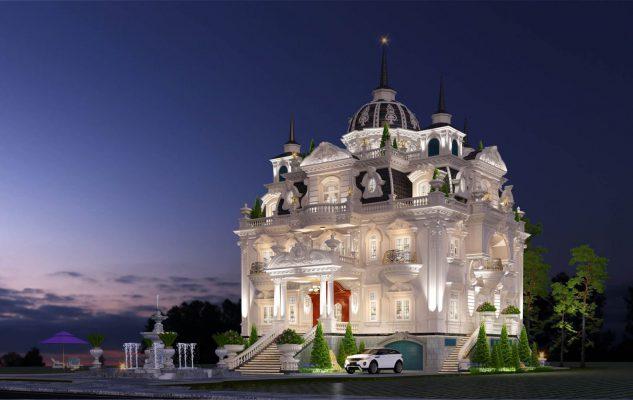 Những lưu ý về phong cách để thiết kế lâu đài đẹp