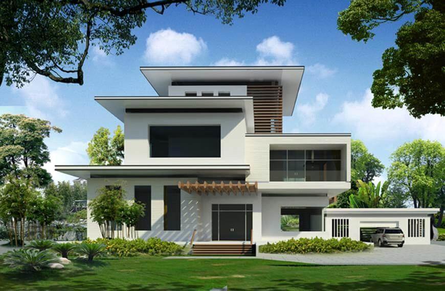 Những yếu tố cơ bản để có kiến trúc biệt thự đẹp